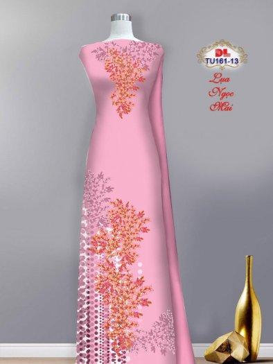 Vải áo dài lụa ngọc mai cao cấp TU 161 của Vải Áo Dài Kim Ngọc8