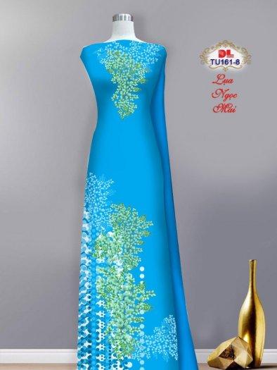 Vải áo dài lụa ngọc mai cao cấp TU 161 của Vải Áo Dài Kim Ngọc7