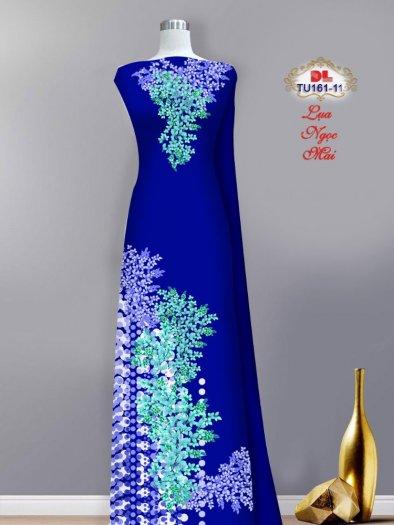 Vải áo dài lụa ngọc mai cao cấp TU 161 của Vải Áo Dài Kim Ngọc6