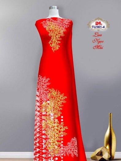 Vải áo dài lụa ngọc mai cao cấp TU 161 của Vải Áo Dài Kim Ngọc5