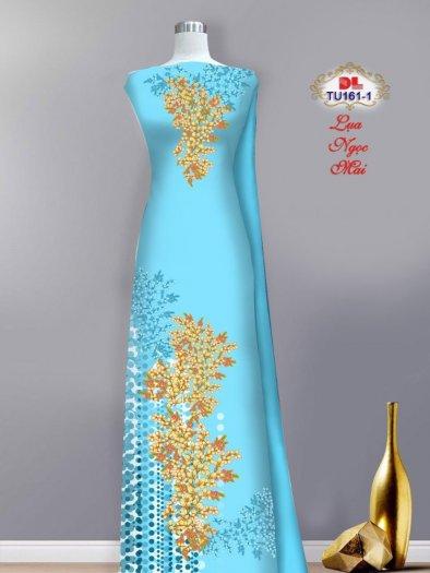 Vải áo dài lụa ngọc mai cao cấp TU 161 của Vải Áo Dài Kim Ngọc4