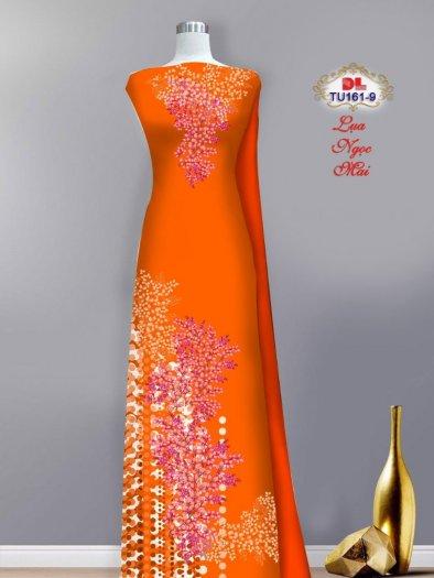 Vải áo dài lụa ngọc mai cao cấp TU 161 của Vải Áo Dài Kim Ngọc1