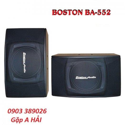 Loa Boston BA-552 thiết kế nhỏ gọn nhất trong dòng loa 450W1