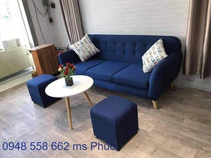 Ghế sofa đẹp cho spa, bộ bàn ghế chờ spa đẹp giá rẻ tại Thuận An, Bình dương5