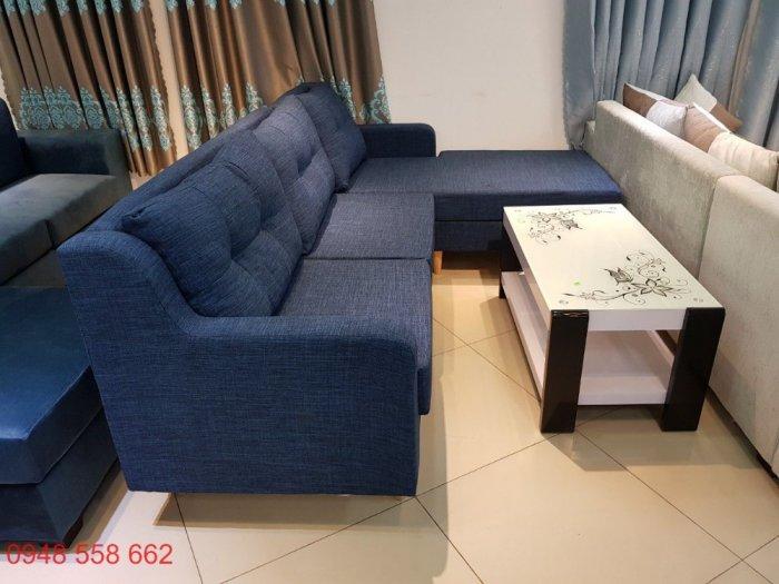 Ghế sofa đẹp cho spa, bộ bàn ghế chờ spa đẹp giá rẻ tại Thuận An, Bình dương2