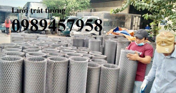 Lưới thép dập giãn, Lưới hình thoi, Lưới mắt cáo, Lưới dập giãn mạ kẽm nhúng nóng12