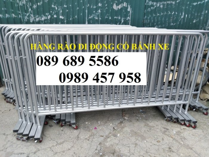 Hàng rào giãn cách, Hàng rào khu cách ly Covid, Hàng rào có sẵn 1mx2m, 1,2mx2m4
