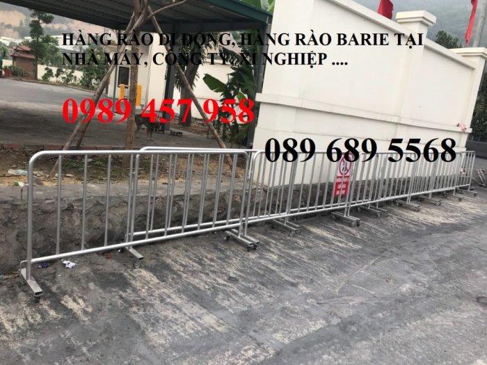 Sản xuất khung hàng rào di động, hàng rào cách ly khu vực Covid có sẵn5