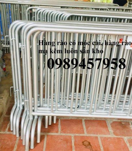 Sản xuất khung hàng rào di động, hàng rào cách ly khu vực Covid có sẵn2