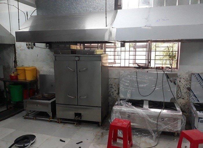 Bếp gas công nghiệp 2 họng inox 304 Hải Minh HM 0917