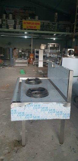 Bếp gas công nghiệp 2 họng inox 304 Hải Minh HM 093