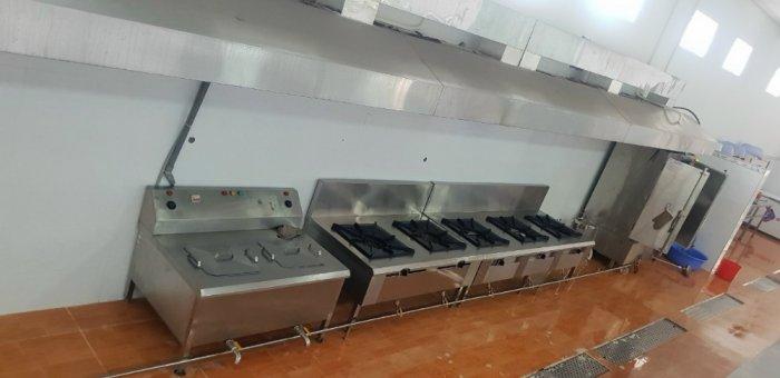 Bếp gas công nghiệp 2 họng inox 304 Hải Minh HM 092