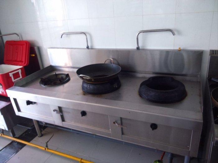 Bếp ga inox công nghiệp 3 họng đốt Hải MInh14