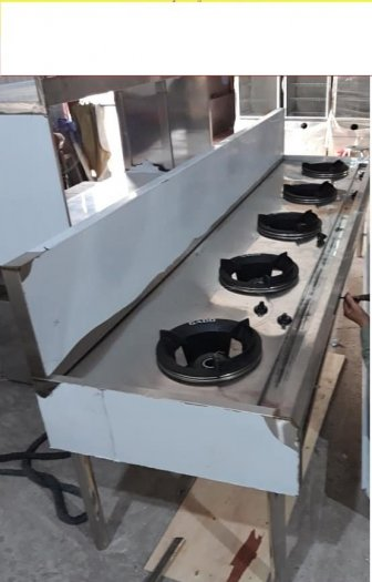 Bếp ga inox công nghiệp 3 họng đốt Hải MInh10