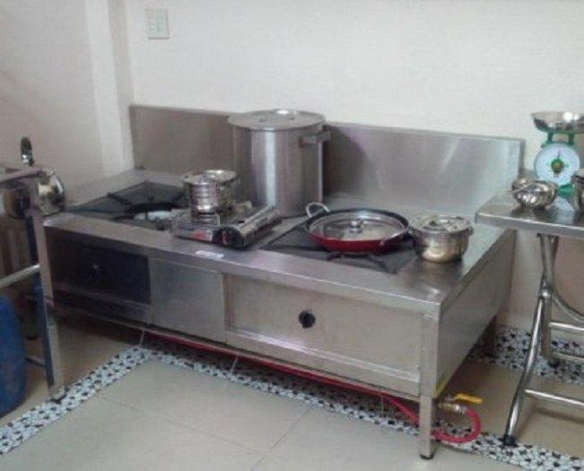 Bếp gas inox hầm chân thấp Hải MInh HM 1111