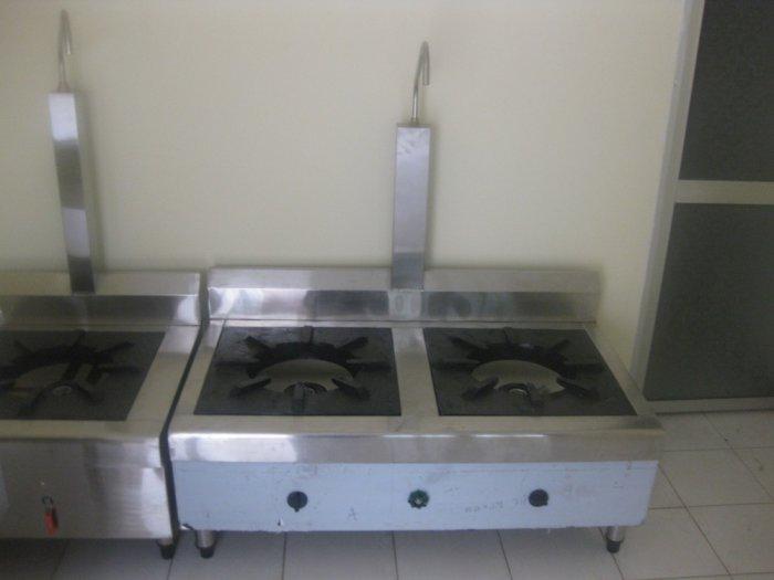 Bếp gas inox hầm chân thấp Hải MInh HM 112