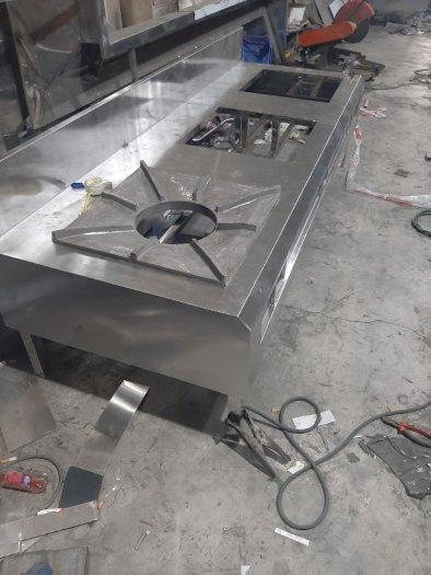 Bếp gas inox hầm chân thấp Hải MInh HM 110