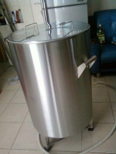 Nồi inox điện nấu nước sôi 100 lít Hải Minh HM 01917