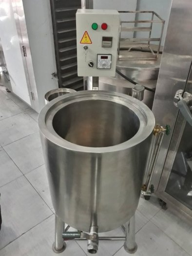 Nồi inox điện nấu nước sôi 100 lít Hải Minh HM 01916