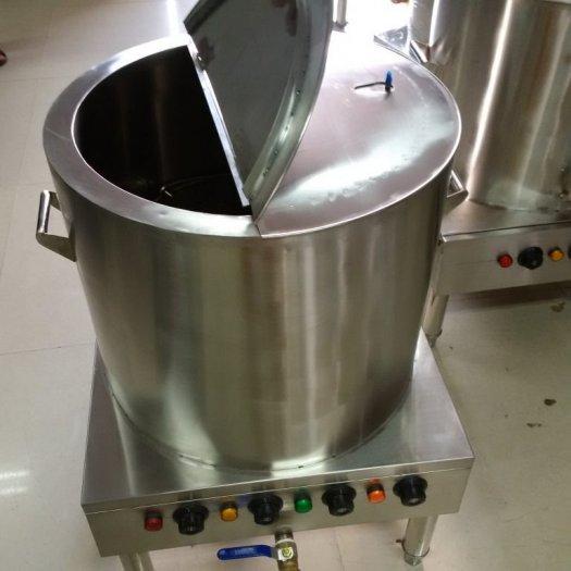 Nồi inox điện nấu nước sôi 100 lít Hải Minh HM 01914