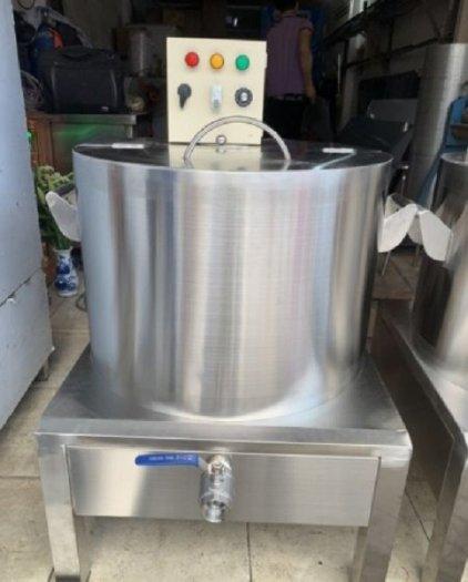 Nồi inox điện nấu nước sôi 100 lít Hải Minh HM 01912