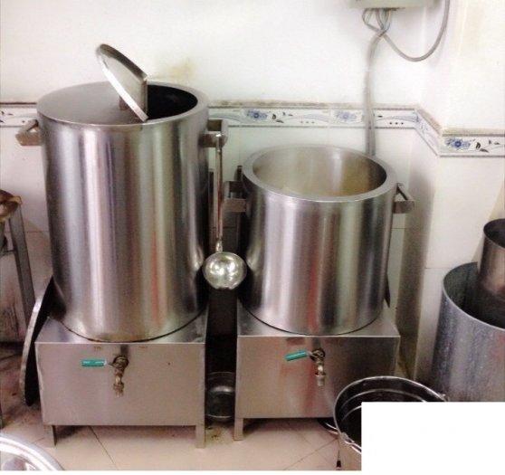 Nồi inox điện nấu nước sôi 100 lít Hải Minh HM 01911