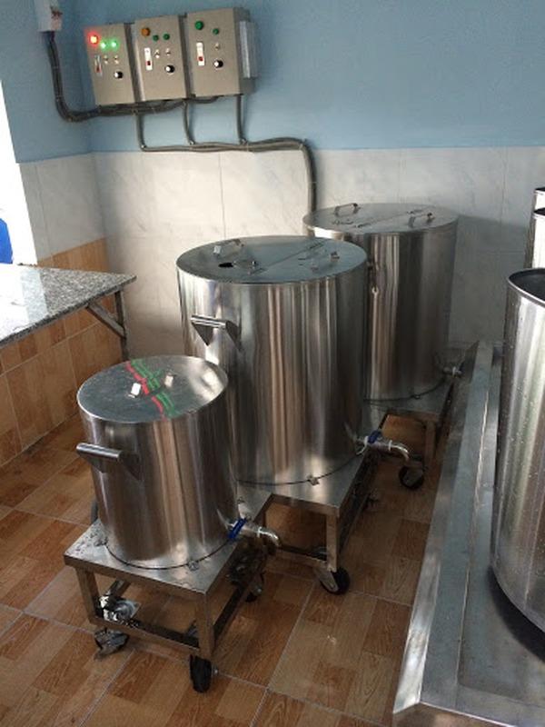 Nồi inox điện nấu nước sôi 100 lít Hải Minh HM 01910