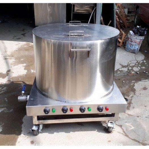 Nồi inox điện nấu nước sôi 100 lít Hải Minh HM 0199