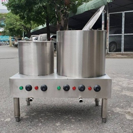 Nồi inox điện nấu nước sôi 100 lít Hải Minh HM 0197
