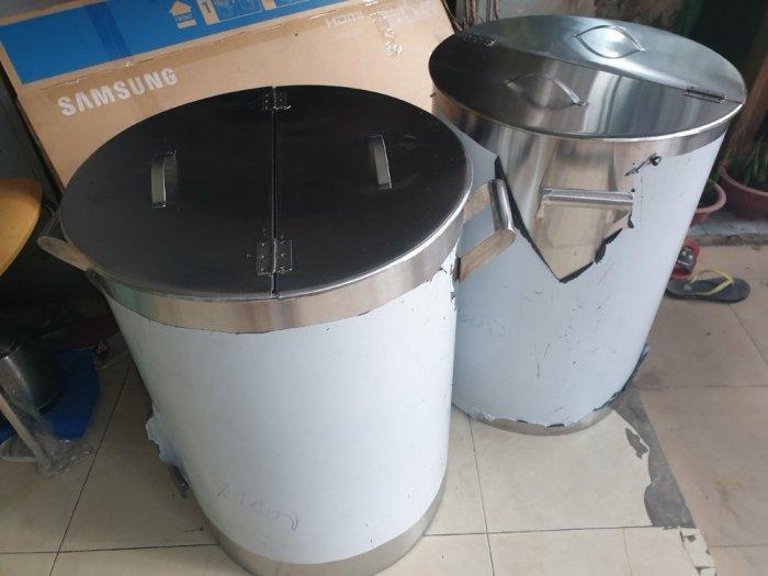 Nồi inox điện nấu nước sôi 100 lít Hải Minh HM 0190
