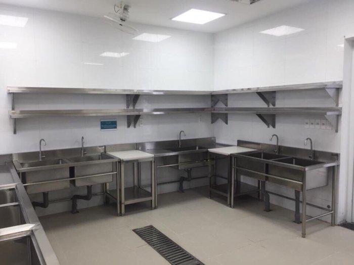 Kệ bếp inox 2 tầng13