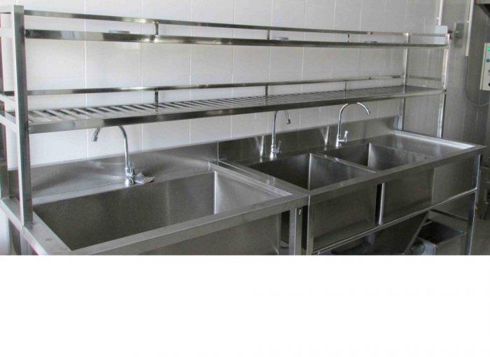 Kệ bếp inox 2 tầng8