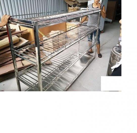 Kệ bếp inox 3 tầng Hải Minh HM 02013