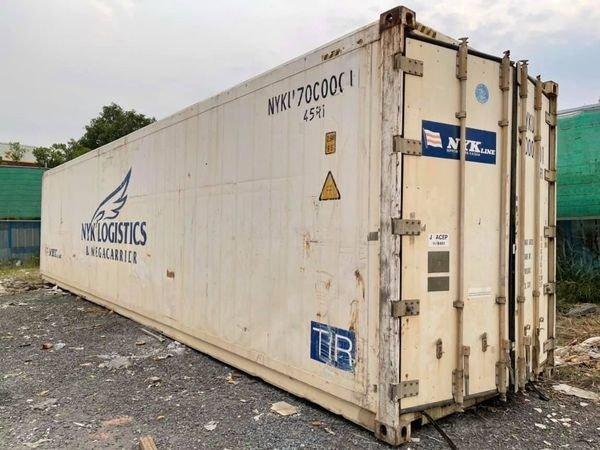 Container lạnh 40feet hãng tàu NYK1