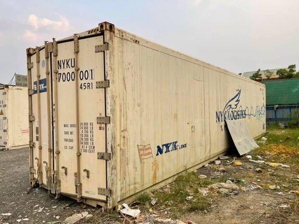 Container lạnh 40feet hãng tàu NYK0
