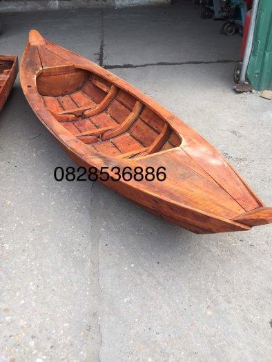 Thuyền 3 lá, thuyền gỗ tam bản trưng bày, chụp ảnh0