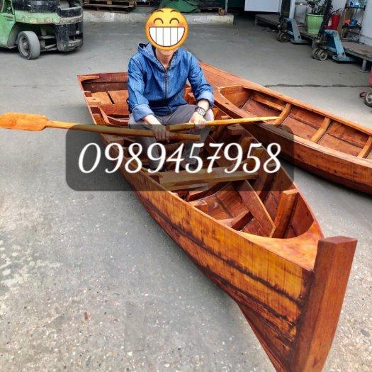 Xưởng đóng Thuyền gỗ chèo tay thể thao, Thuyền gỗ câu cá, hồ câu, Thuyền gỗ chụp ảnh3