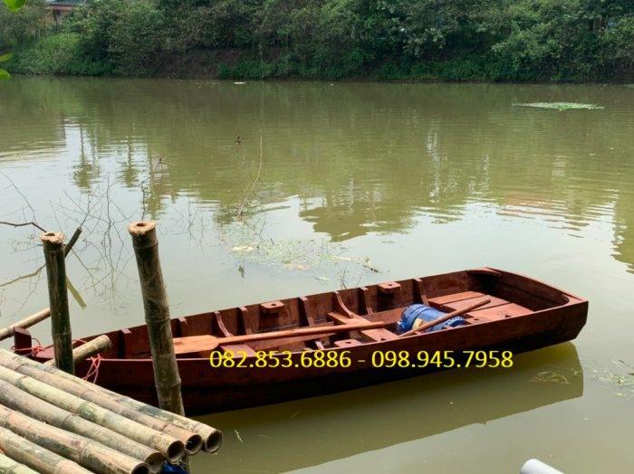 Xưởng đóng Thuyền gỗ chèo tay thể thao, Thuyền gỗ câu cá, hồ câu, Thuyền gỗ chụp ảnh2
