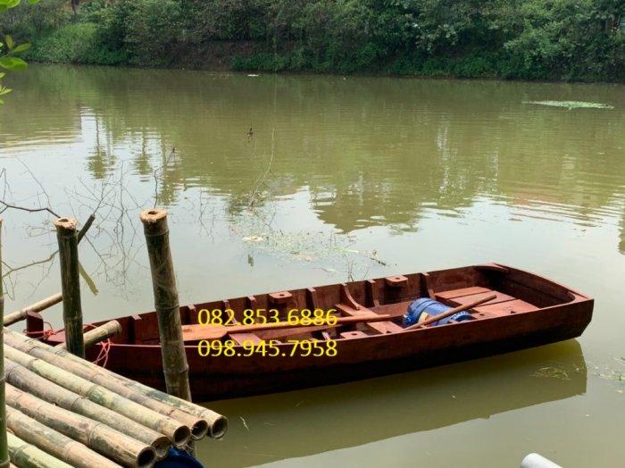 Xưởng đóng Thuyền gỗ chèo tay thể thao, Thuyền gỗ câu cá, hồ câu, Thuyền gỗ chụp ảnh1