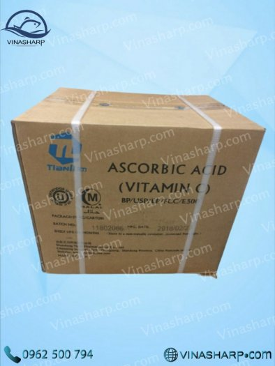 Vitamin C – Ascorbic Acid dùng trong Nuôi trồng thủy sản0