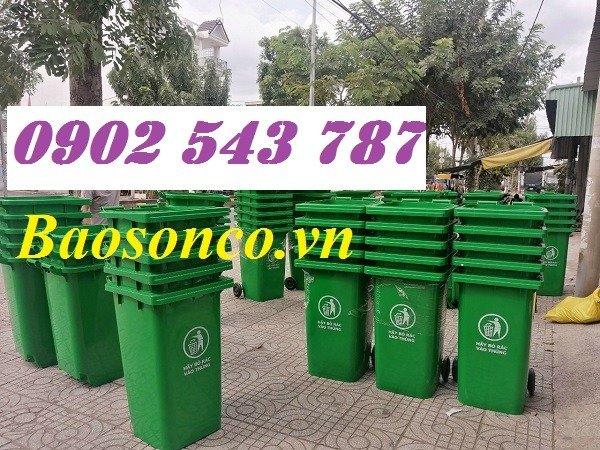 Nơi bán thùng rác 120 lít cộng cộng 120 lít2