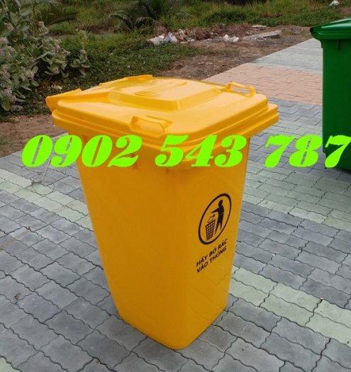 Nơi bán thùng rác 120 lít cộng cộng 120 lít0