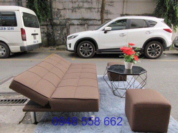 Mua sofa bed giá rẻ tặng kèm bàn + 2 đôn tại Thuận An, mua bàn ghế kiêm giường ngủ 2 trong 1 tại Bình dương14