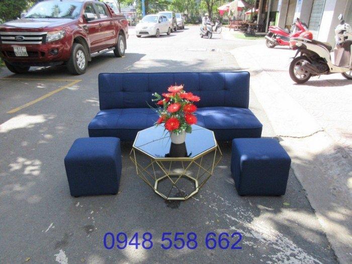Mua sofa bed giá rẻ tặng kèm bàn + 2 đôn tại Thuận An, mua bàn ghế kiêm giường ngủ 2 trong 1 tại Bình dương12