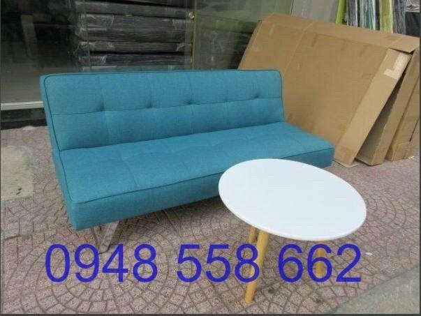 Mua sofa bed giá rẻ tặng kèm bàn + 2 đôn tại Thuận An, mua bàn ghế kiêm giường ngủ 2 trong 1 tại Bình dương11