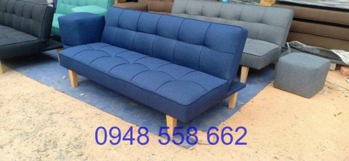 Mua sofa bed giá rẻ tặng kèm bàn + 2 đôn tại Thuận An, mua bàn ghế kiêm giường ngủ 2 trong 1 tại Bình dương8