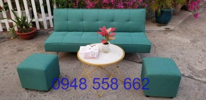 Mua sofa bed giá rẻ tặng kèm bàn + 2 đôn tại Thuận An, mua bàn ghế kiêm giường ngủ 2 trong 1 tại Bình dương6
