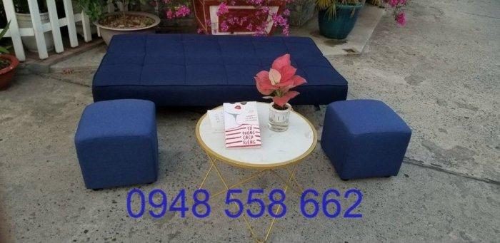 Mua sofa bed giá rẻ tặng kèm bàn + 2 đôn tại Thuận An, mua bàn ghế kiêm giường ngủ 2 trong 1 tại Bình dương3
