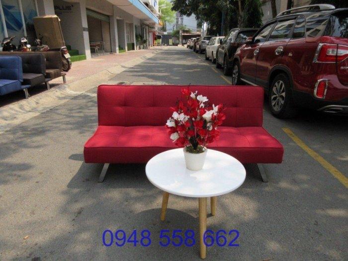 Mua sofa bed giá rẻ tặng kèm bàn + 2 đôn tại Thuận An, mua bàn ghế kiêm giường ngủ 2 trong 1 tại Bình dương1
