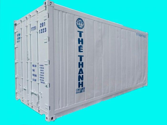 Container lạnh 20feet làm kho lạnh mini0